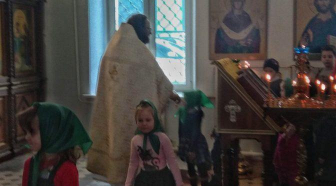 Занятия в воскресной школе 10 февраля