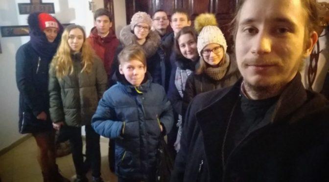 Встреча молодежного клуба «Троица»