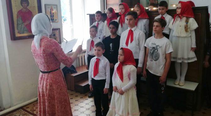 Занятия в воскресной школе 19 мая