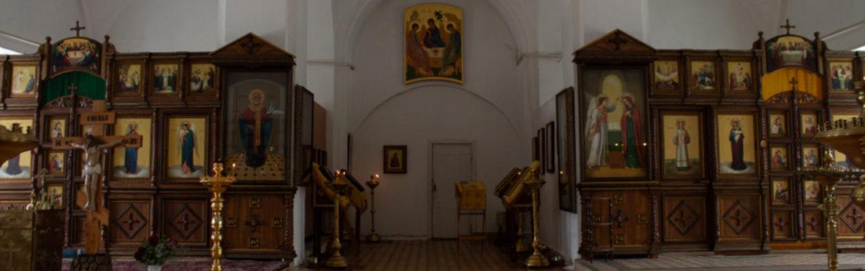 Храм Николы Ратного  города Каширы